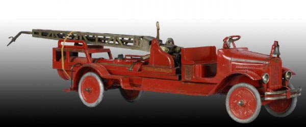 Old Fashioned Toy Fire Trucks