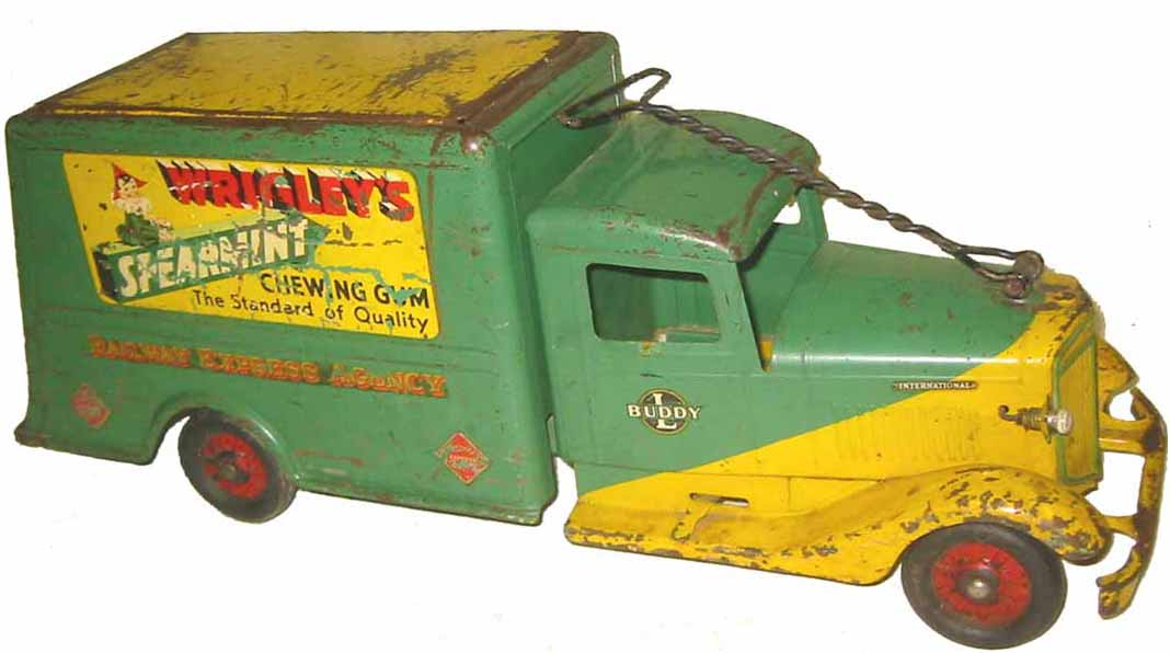 Buddy L Wrigley\'s Spearmint Gum Truck ~ Prices ~ Pictures