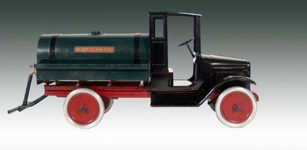 Buddy L Oil Truck ~ Steam Shovel ~ Free Appraisals