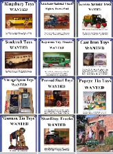 Buddy L Toys Appraisals and information, Vintage Space Toys Price Guide, Buying Early American Toys Buddy L Museum helping collectors buy and sell rare toys since 1968. Buying Vintage German Tin Cars, Buddy L Trucks, Japanese Battery Operated Tin Toys