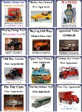 Buddy L Truck Identification Guide, Buddy L Toys Information, Free Toy Appraisals, Free Vintage Toy Price Guide, Buying Vintgage German Tin Toys, Buying 1920s Buddy L Toys, Buddy L Truck Information and values, www.buddyltruck.com